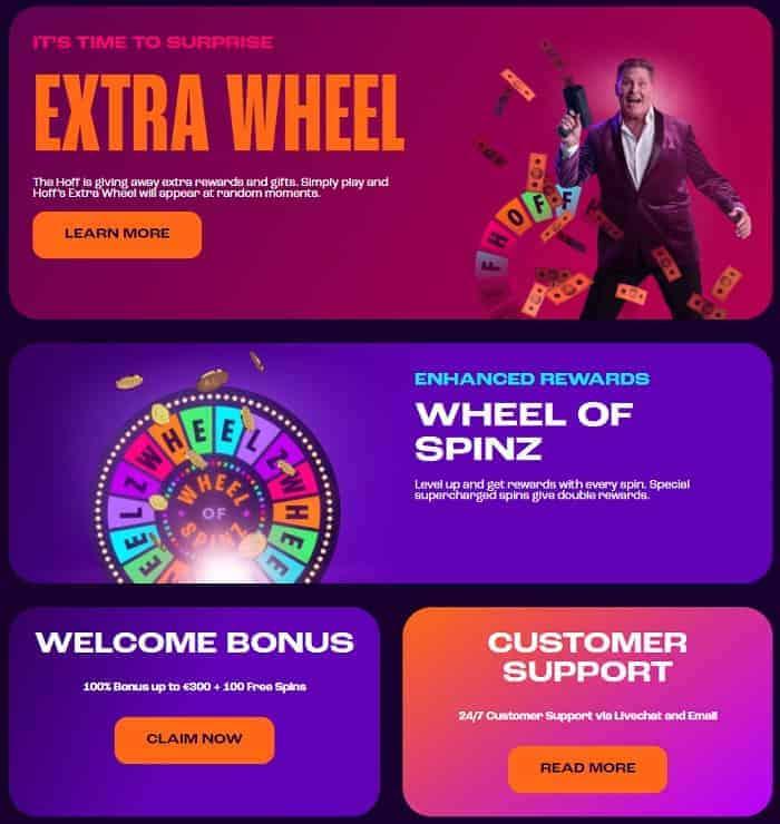 Wheelz Casino Review & Rating