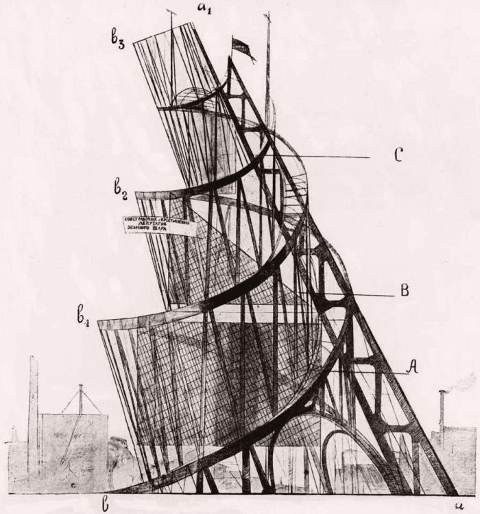 Vladimir Tatlin Constructivism