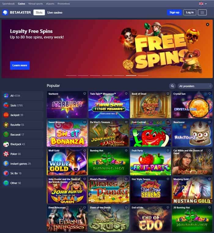 Loyalty Free Spins Promo