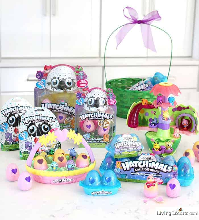 Hatchimals Colleggtibles Easter Basket Gift Ideas and Easter Egg Hunt Ideas