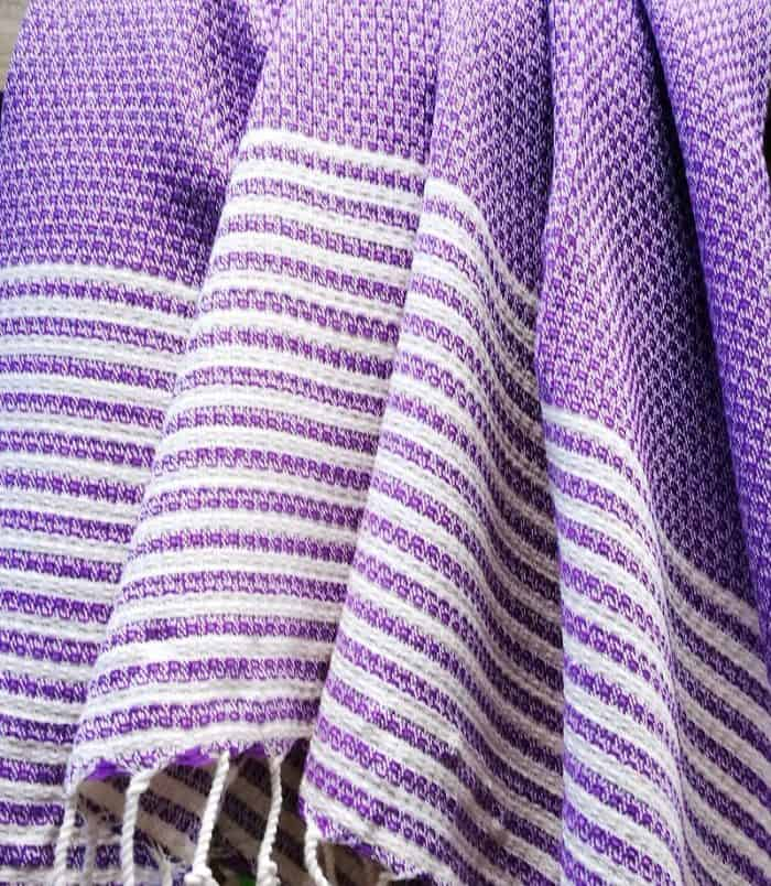 turkish towel, towel, beach towel, pestemal, throw