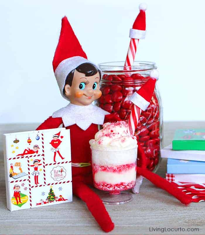 Mini Peppermint Trifle gift from Elf on the Shelf