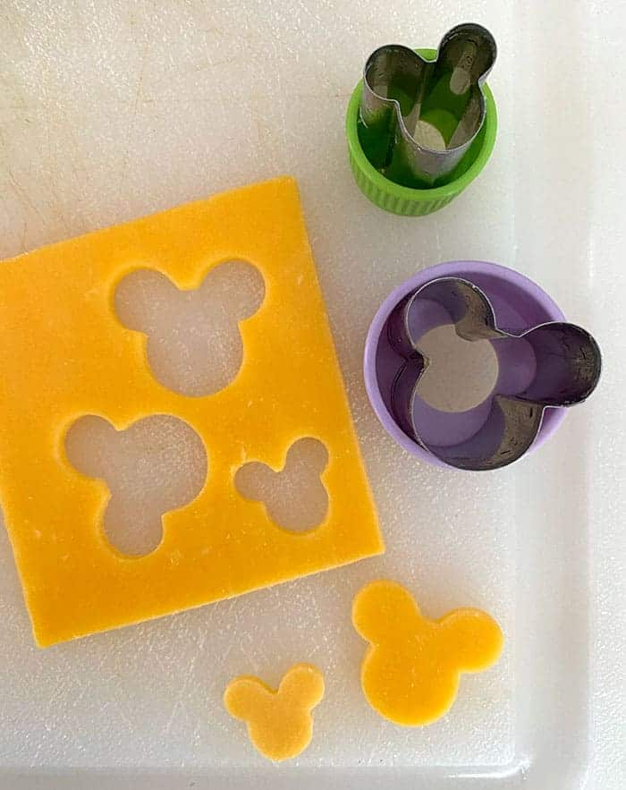 Mickey and Minnie Mouse Shaped food and cookie cutters