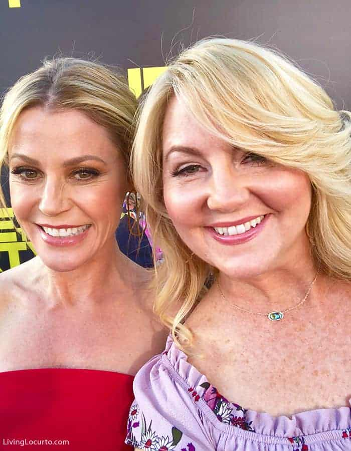 Julie Bowen and Amy Locurto on red carpet of Life of the Party Movie