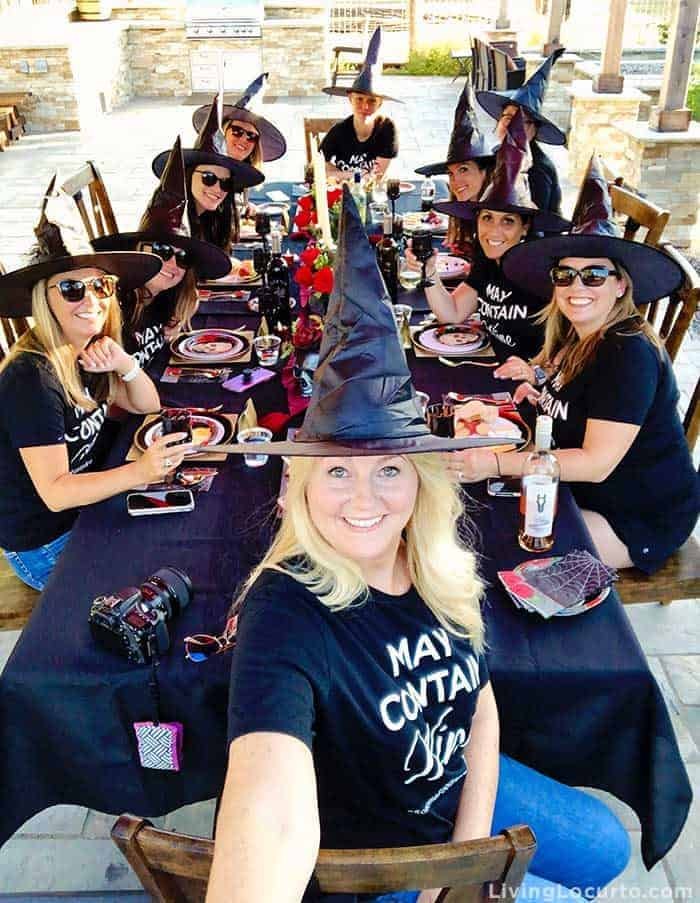 Witch Halloween Party Ideas - Amy Locurto Food and Party Blogger - Sonoma Food Blog Retreat