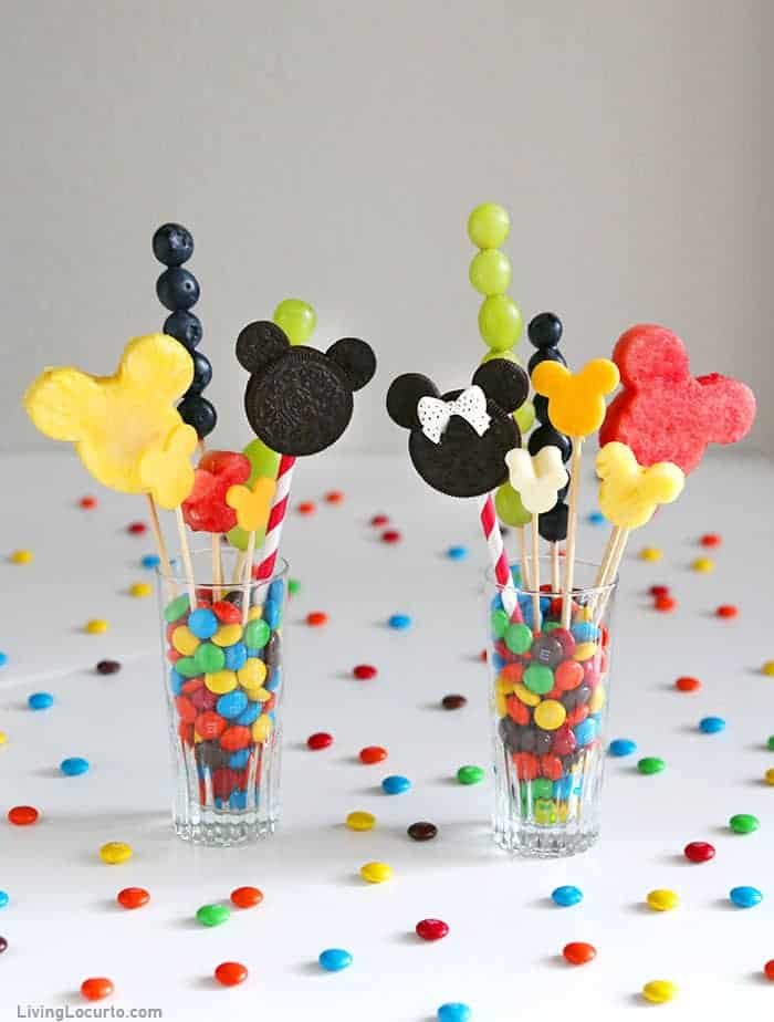 Disney Jarcuterie Board - Individual Charcuterie in cups - Mickey and Minnie Mouse Shaped Food