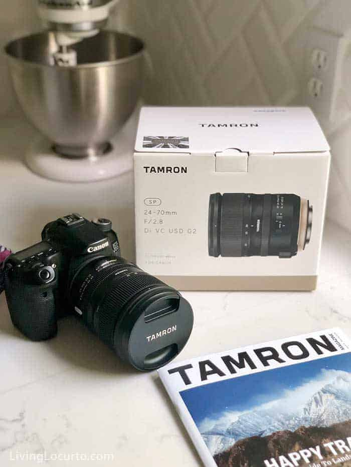 What kind of lens do you need to be a food or lifestyle blogger? Tamron SP 24-70mm F/2.8 Di VC USD G2 lens review and Sonoma photo tour!