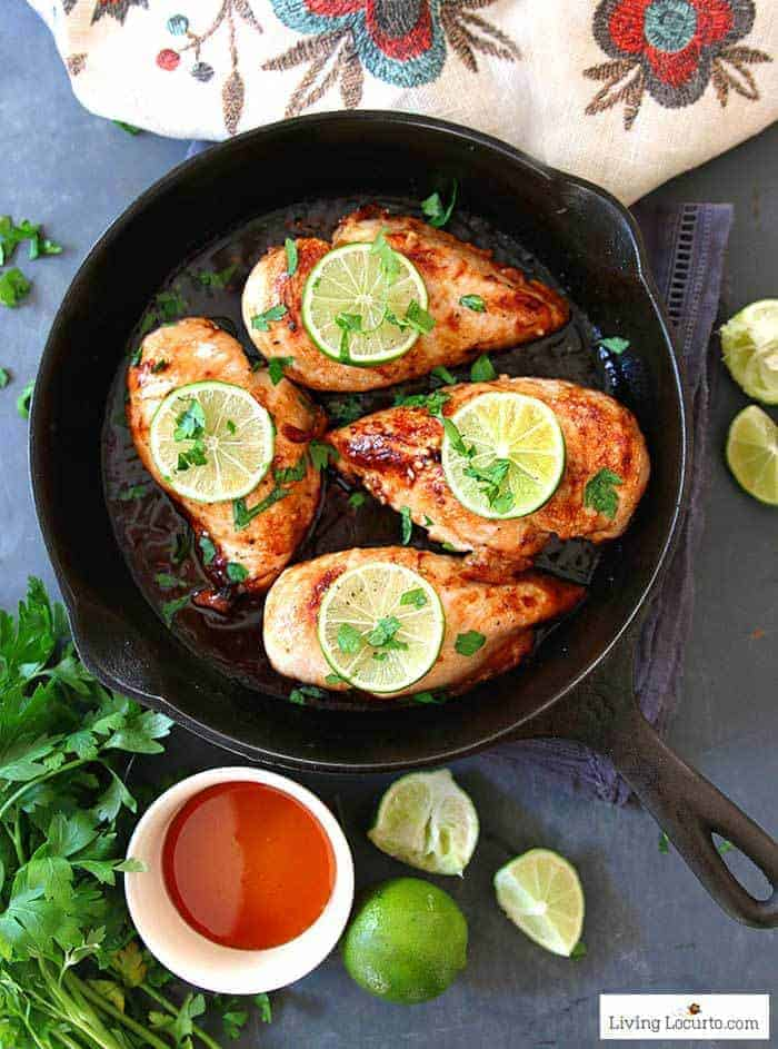 Honey Lime Baked Chicken Breasts Low Carb Recipe