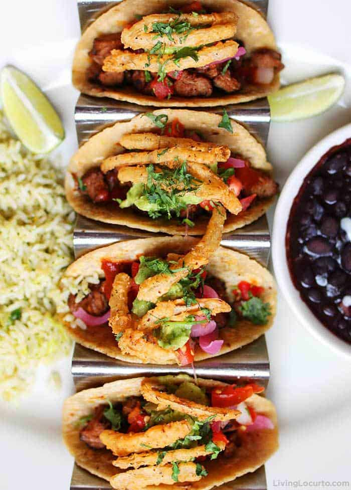 The Cheesecake Factory Grilled Steak Tacos Recipe