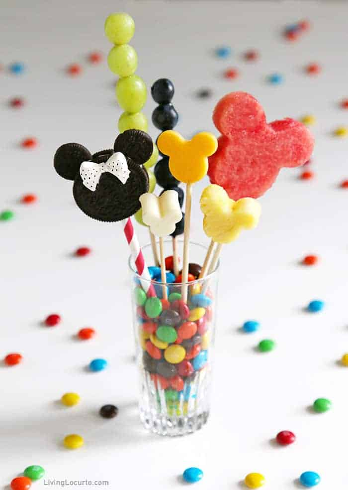 Disney Jarcuterie - Mickey and Minnie Mouse Dessert in a cup