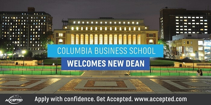 Columbia Business School Welcomes New Dean