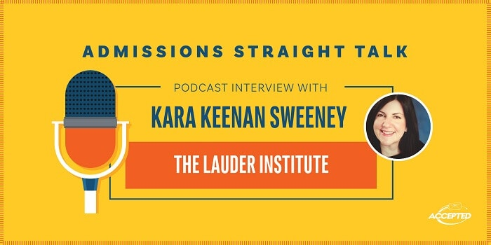 Podcast interview with Kara Keenan Sweeney, the Lauder Institute