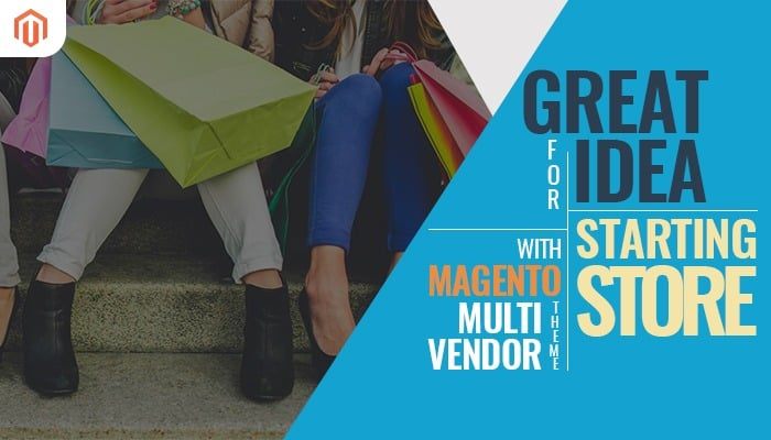 Magento multi vendor theme logo