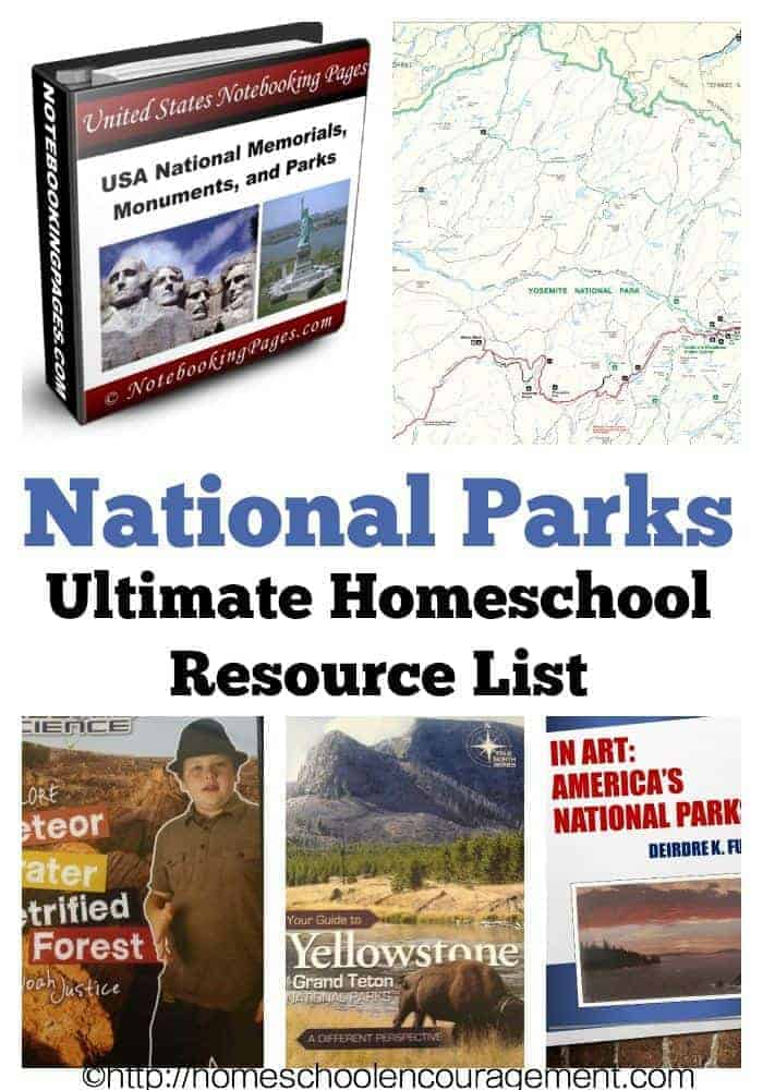 Visiting a National Park soon?  Here is a great list of books, educational materials, high-quality free printables, unit studies, and more family-friendly stuff so that you are ready for your next trip.