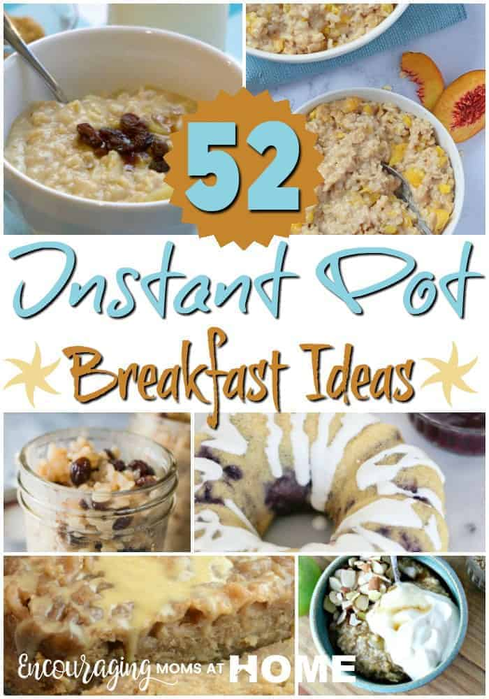 Are you looking for ways to make breakfast easier and healthier? The Instant Pot is a great way to accomplish both. Take a look at this list of 52 Instant Pot Breakfast Recipes to try.