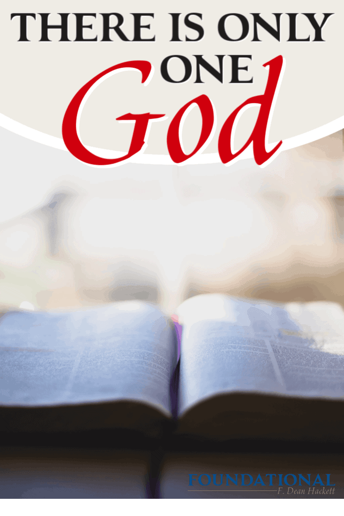 When we truly know God and His Character, we understand that we don't all worship the same God. There is only One God who can offer eternal life. #Foundational #Bible #God #podcast