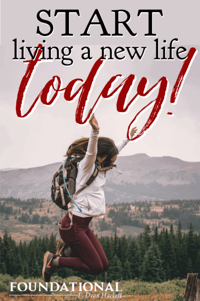 Most people, if asked, would jump at the chance for a do-over in life. God gives us a do-over: it's called new life. Start living a new life today. #foundational #identity #Bible #Jesus #newlife #Easter