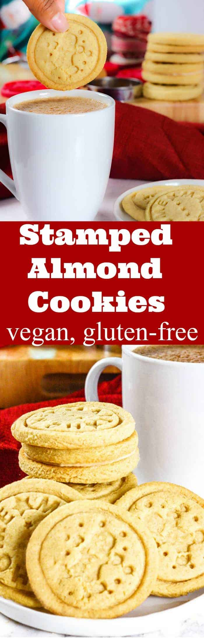 Stamped Almond Cookies