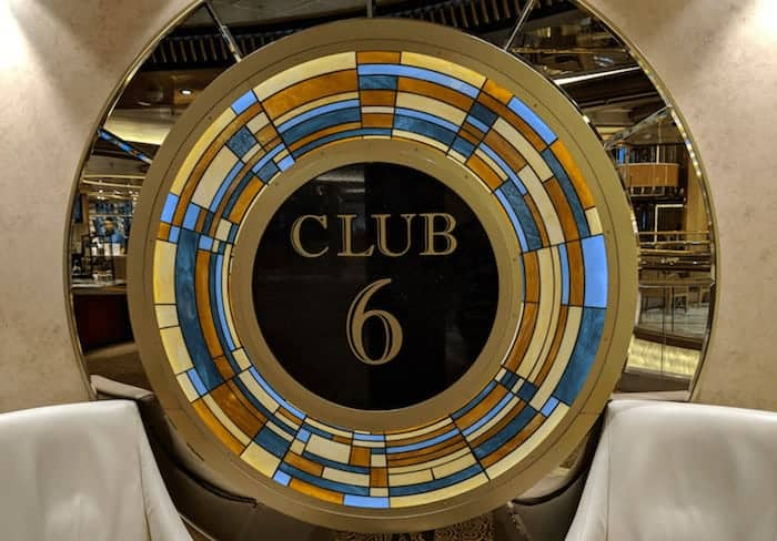 Club 6 on the Regal Princess Baltic Cruise