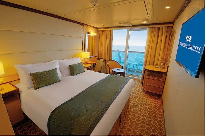 Balcony Cabin on the Regal Princess