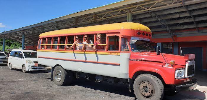 Local Bus in Samoa