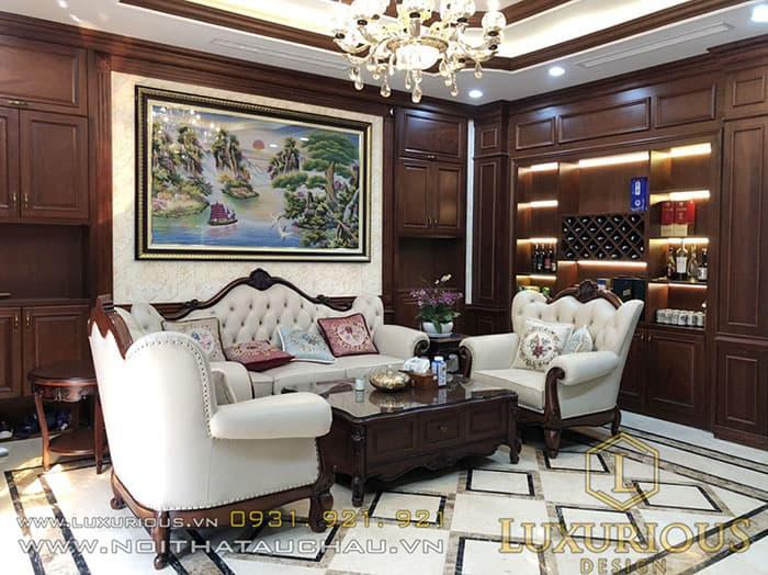 Phòng khách biệt thự Vinhomes Imperia Hải Phòng Paris 25