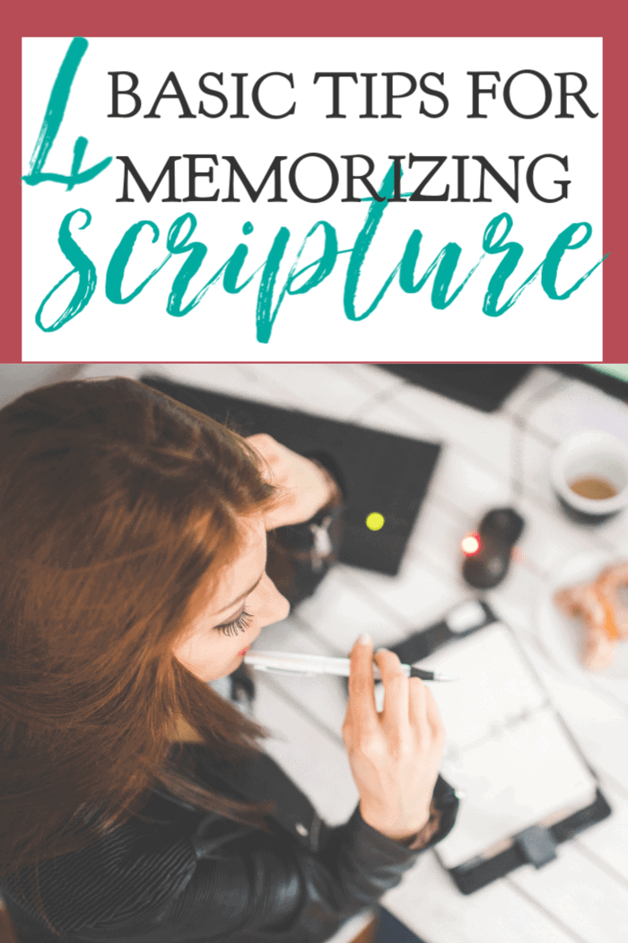 Memorizing Scripture is an essential discipline for all Christians. These basic tips make memorizing Scripture is so much easier. #alittlerandr #memorizing #Bible #quiettime #warroom