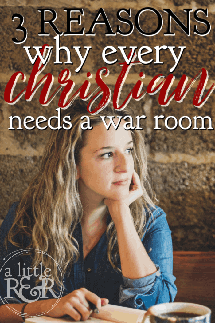 Some may think that having a war room is a fad or something only for certain kinds of Christians, but here is why every Christian needs a war room. #alittlerandr #warroom #bibleverses #prayer #spiritualwarfare