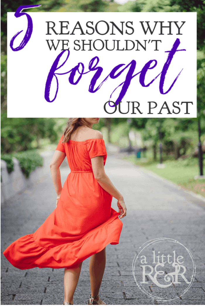 There is a great push for us to forget our past mistakes and injustices, even among Christians; but Scripture shows us why we shouldn't forget our past. #alittlerandr #OnlineBibleStudy #identityinChrist #Psalms