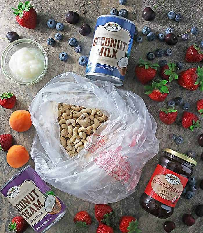 Photo of Ingredients For No Bake Star Anise Strawberry Cake
