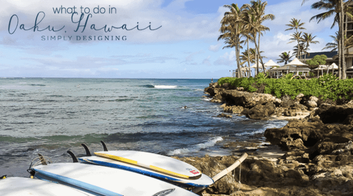 What to do in Oahu Hawaii - 3 days
