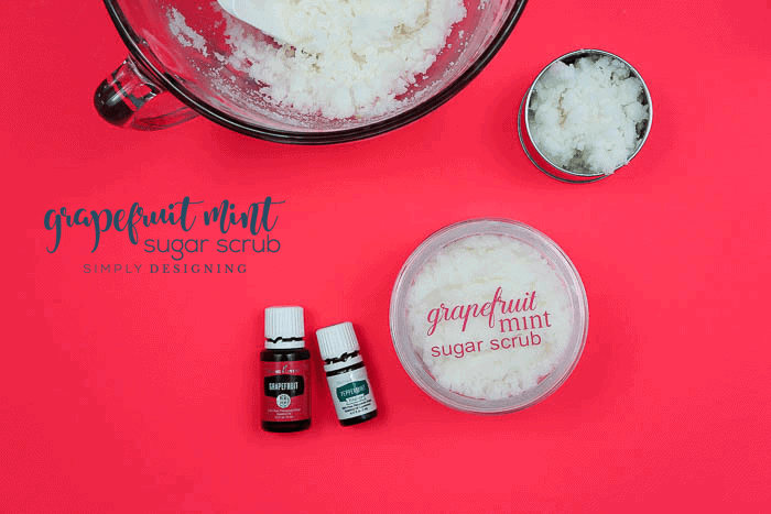 Grapefruit Mint Sugar Scrub Recipe