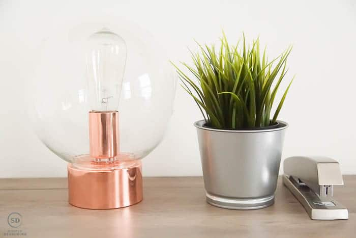 Glass Orb Light