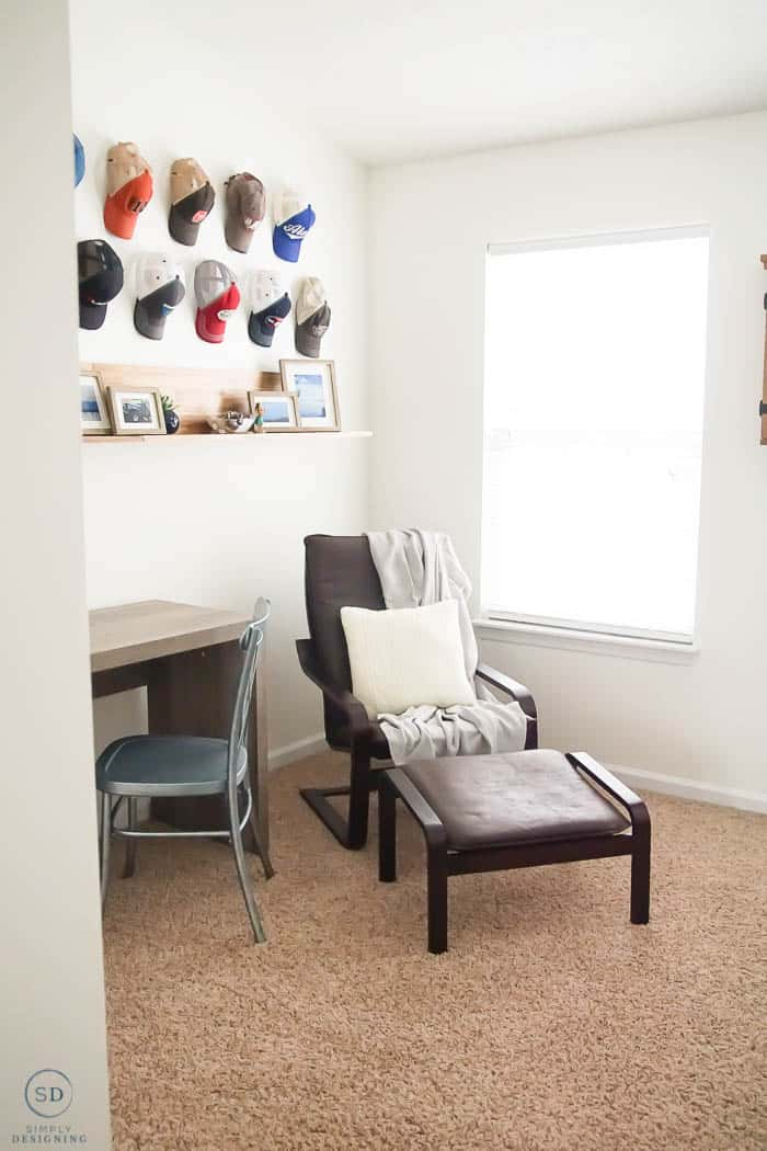Decorating a Man's Office with Farmhouse Design