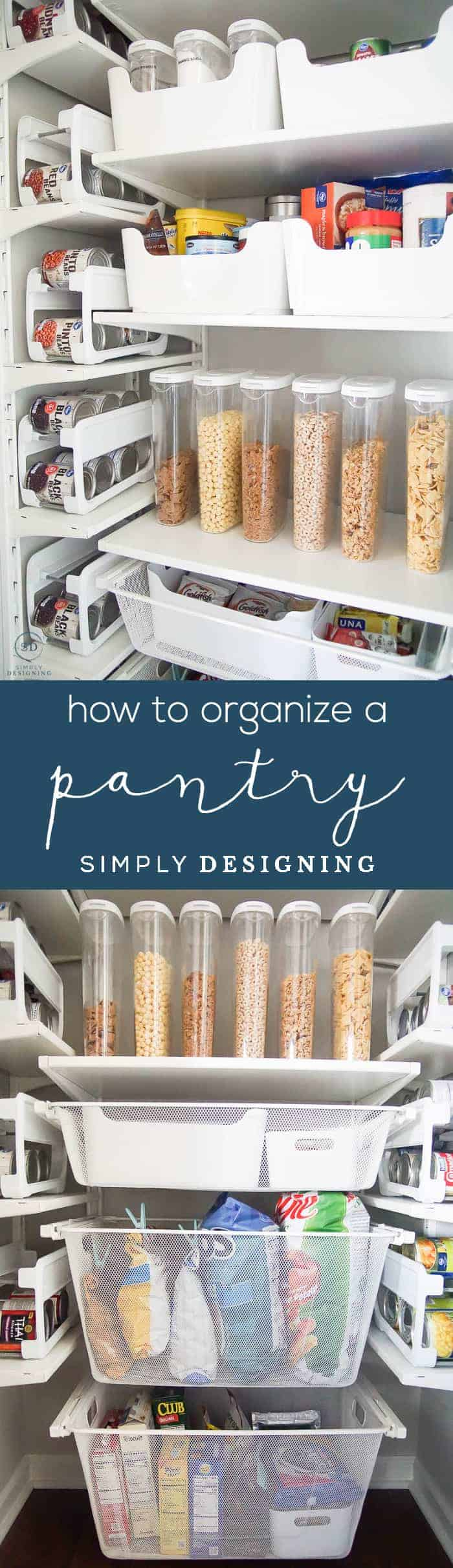 How to Organize a Small Pantry - DIY Pantry Organization Ideas - Organize Pantry