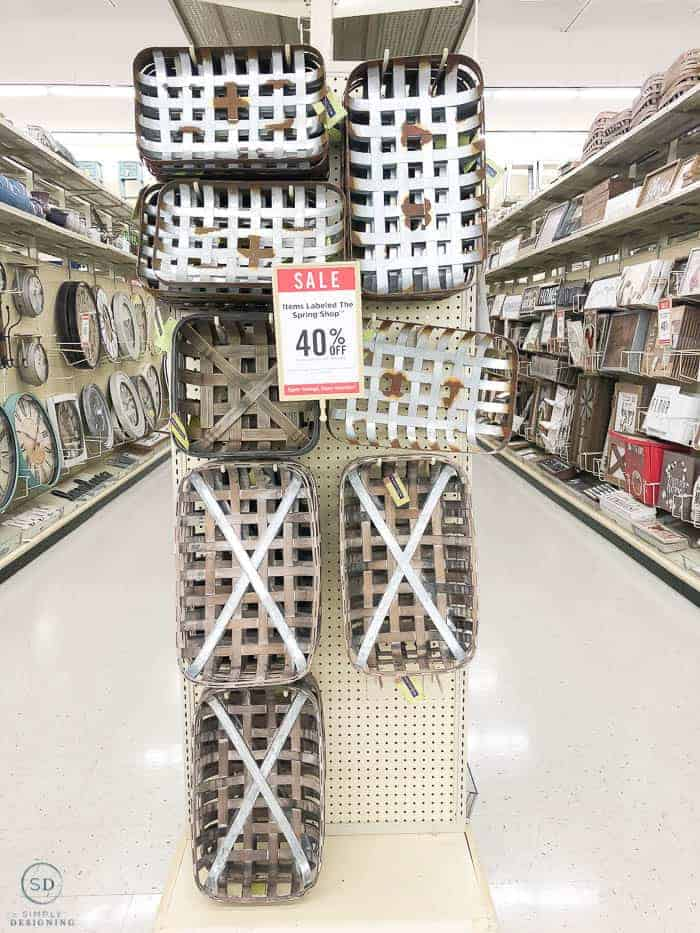 Tobacco Baskets at Hobby Lobby