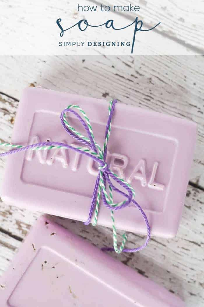 Lavender Soap with Essential Oils