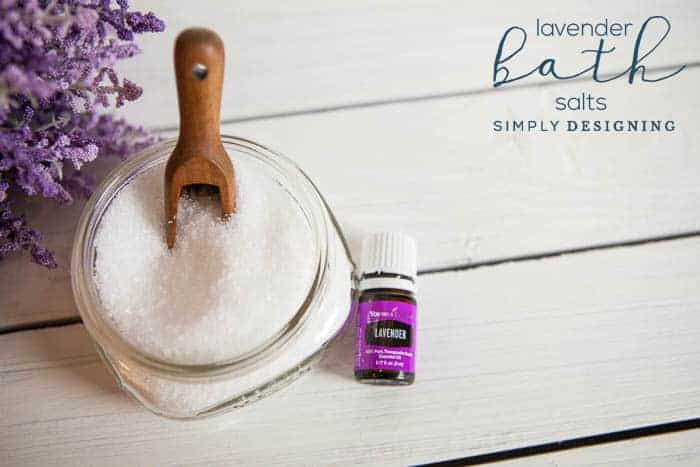 DIY Bath Salts - Lavender Bath Salts - How to Make Bath Salts