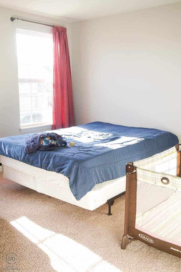BEFORE Cool Boy Bedroom Idea - #ad #BHGLiveBetter #BHGatWalmart @BHGLiveBetter