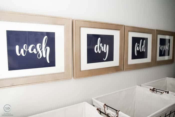 FREE laundry room prints
