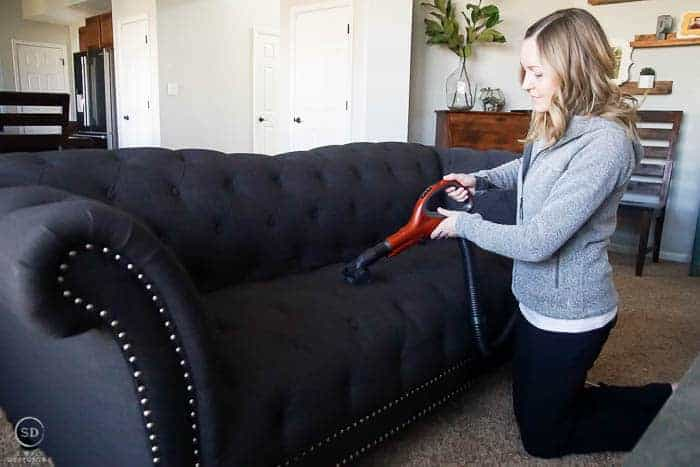 vacuum a couch