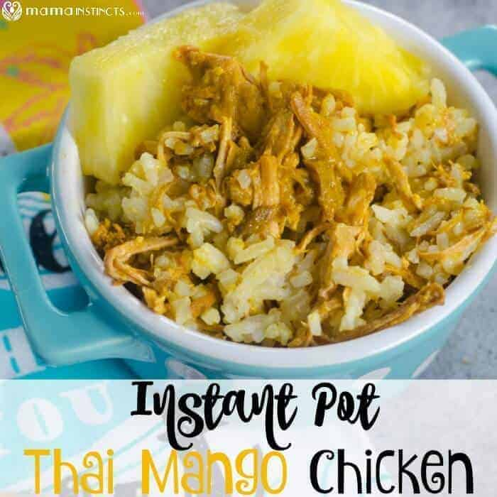 Instant Pot Thai Mango Chicken