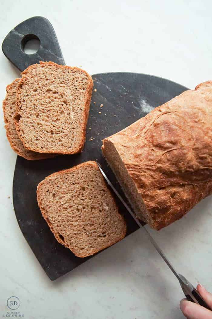 delicious and so simple to make this whole wheat no knead artisan bread recipe is perfect to make today