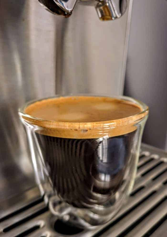 Caffeine in soluble or instant coffee