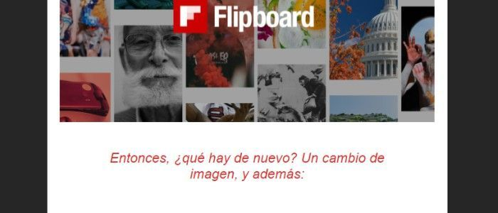 Newsletter flipboard