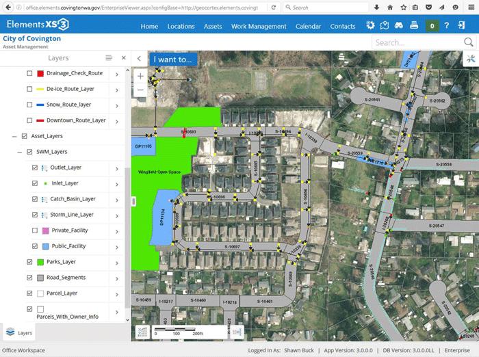 Screenshot from Covington's map viewer. Source: Novotx.
