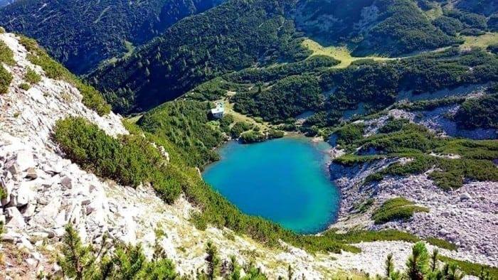 Sinanitza El pico azul Parque nacional de Pirin