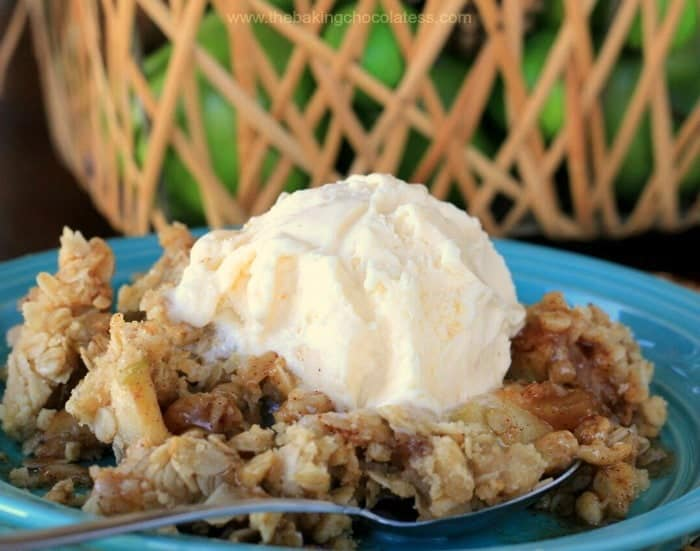 Beyond Yummy GF Maple Cinnamon Apple Crisp