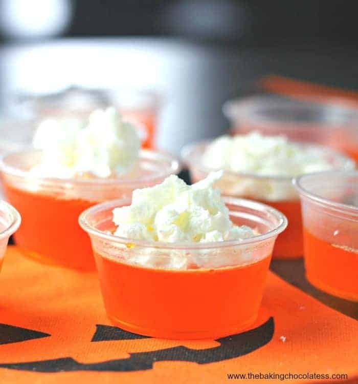 Pinnacle Orange Creamsicle Jell-O Shots