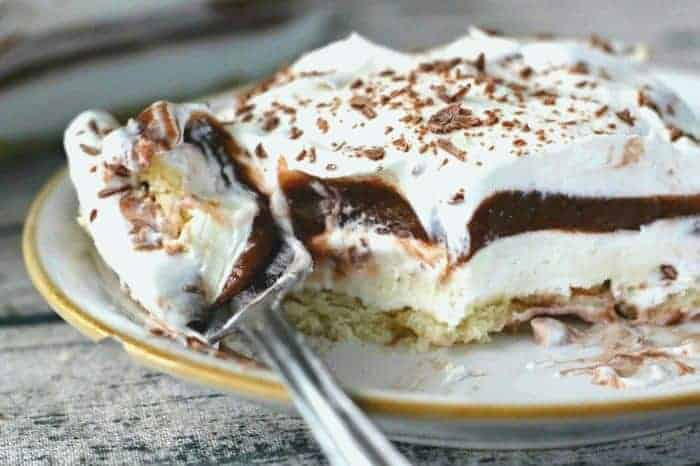 Chocolate Cream Layered Dessert